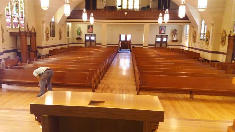 View from Altar