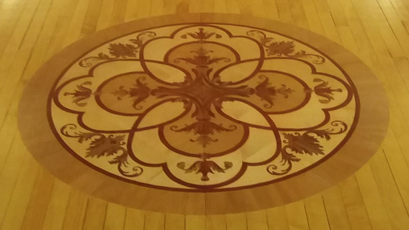 Church Floor Inlay